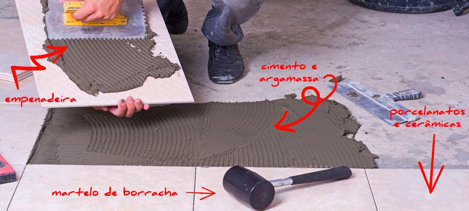 Revestimentos e pisos na Polli Materiais de Construção em Farroupilha