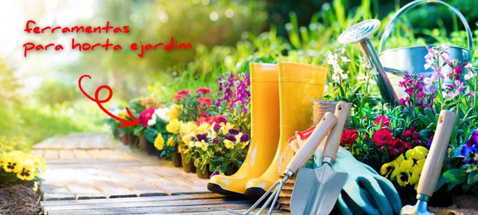 Ferramentas para horta e jardim na Polli Materiais de Construção em Farroupilha, RS