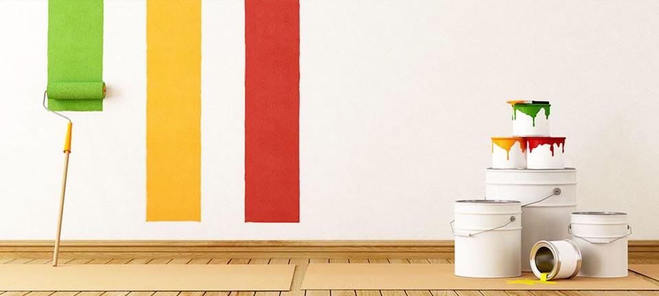 Tintas e pinturas na Polli Materiais de Construção, Farroupilha, RS