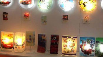 Iluminação para quarto infantil