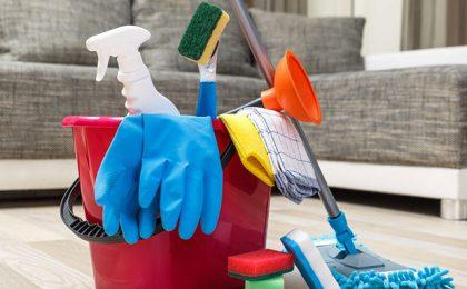 Ferramentas de limpeza em Farroupilha